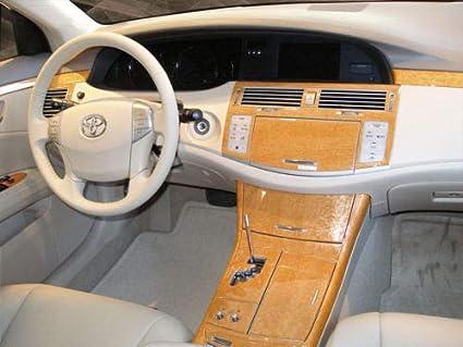 Amazon Com Toyota Avalon Interior Burl Wood Dash Trim Kit Set 2005