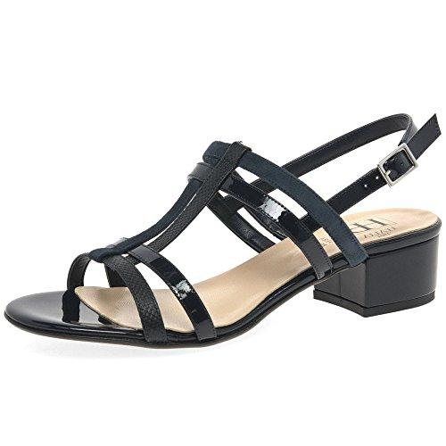 H&B HB Parallel Womens Dress Sandals Navy Multi LlWq3
