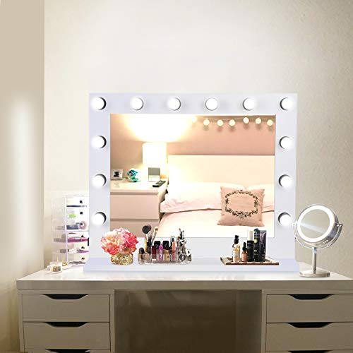Buy lighted vanity table and stool set with lights