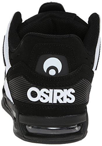 Zapatos Osiris Peril Negro-Blanco-Blanco (Eu 47 / Us 12 , Negro)