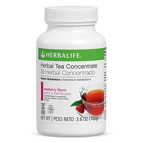 Metabolism Booster Herbal Tea Raspberry 3.6 Oz Burn Calories Drink