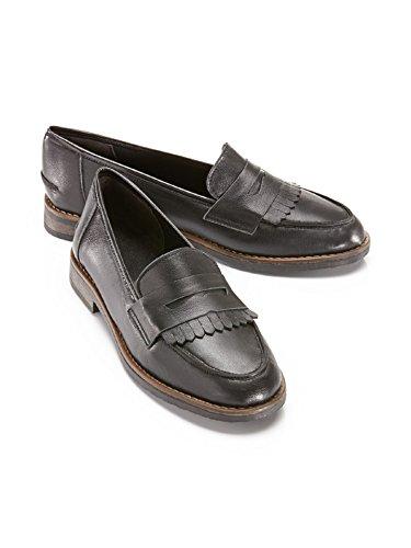 Donne Avena Alluce-pantofola Morbido Come Il Burro -. Gr Nero 39