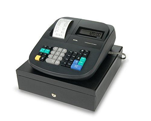 Royal 210DX Caja Registradora con Pantalla LCD, 24 departamentos y 1500 configuraciones de PLU