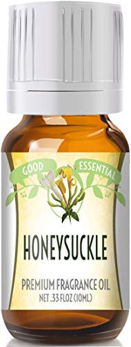 Honeysuckle Scented Oil by Good Essential (Premium Grade Fragrance Oil) - Perfect for Aromatherapy, Soaps, Candles, Slime, Lotions, and More!