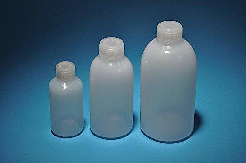 United Scientific 33404-BULK High-Density Polyethylene Narrow Mouth Reagent Bottles with Polypropylene Closure, Bulk Pack, 500ml Capacity (Case of 125) Thomas Scientific