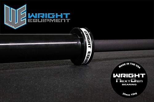 Wright Equipment 15KG Next Gen Bearing Bar Black-Black