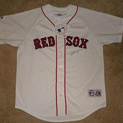 designer fashion 8ca6b 6037a Jacoby Ellsbury Autographed Jersey (red Sox) W/Proof ...