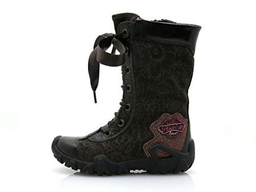 iMac Winterboots Winterstiefel Winterschuhe Boots Stiefel Stiefelette Schuhe Dunkelbraun