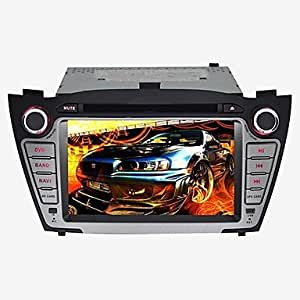 DF Hyundai IX35 2010-2013 Car DVD Player Android4.4 2 Din 7'' 800 x 480Built-in Bluetooth/GPS/RDS/3D UI/CANBUS/SWC