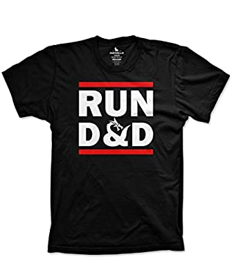 Run D&D shirt funny tshirts board game dice shirt