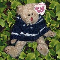 Knit Teddy Bear Sweater (Ty Attic Treasures Fraser 8
