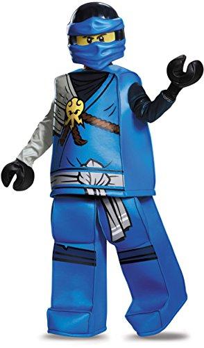 Jay Prestige Ninjago LEGO Costume, Medium/7-8