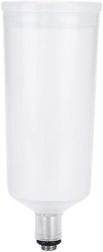 Botella de plástico para aerógrafo, utilizada en aerógrafos de una sola acción, compresor de aire de inyección de oxígeno, accesorio para pistola de pulverización, botella de pintura artística