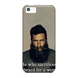 Apple Iphone 5c Ida1662WSsI Provide Private Custom Beautiful He Who Sacrifices His Beard For A Woman Deserves Neither Series Scratch Protection Hard Phone Covers -WayneSnook