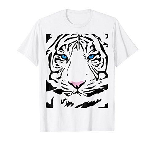 (Tiger tigress face fierce and wild beautiful big cat t shirt)