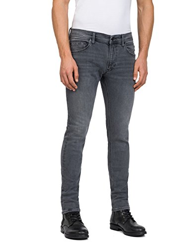 9 Grigio grau Uomo Skinny Jeans Replay Jondrill fqxP78F