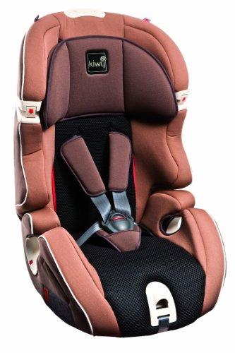 Kiwy 13123KW02B Kinderautositz S123, Gruppe 1/2/3, Universal 9 - 36 kg, ECE R44/04, mokka