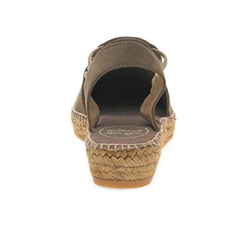 Nuria Toni Womens Pons Taupe Espadrilles Occasionnel OFP5qwF