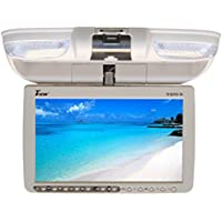 Tview T91DVFD-TN Car Flip Down DVD Monitor (Tan)