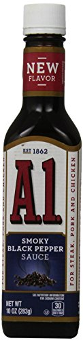 A.1. Smoky Black Pepper Steak Sauce (10 oz Bottle) (Best Sweet Pepper Varieties)
