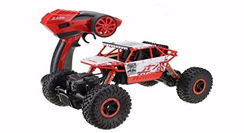 DeXop RC car, 2.4HZ Electric Rock Crawler Radio...