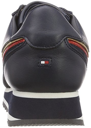 Women''s Hilfiger Tommy Retro Runner Low 020 Sneakers top rwb Blue Star pZnxnF7