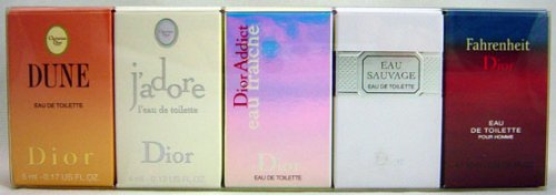 Dior Voyage Mini Fragrance Travel (Dior Jadore Gift Set)