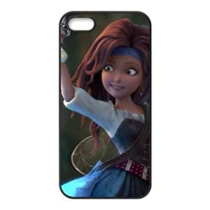 iPhone 5 5s Cell Phone Case Black Pirate Fairy 008 HY2429291