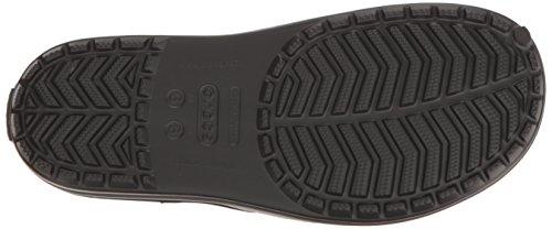 Negro Adulto Deslizantes Sandalias Graphite Crocs Unisex Black 204108 qUH6Hwn1