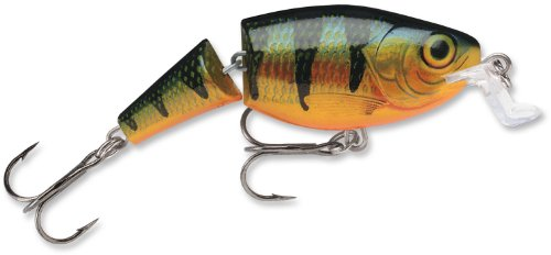 Crankbait Perch (Rapala Jointed Shallow Shad Rap 7 Fishing Lure, Perch, 2-3/4-Inch)