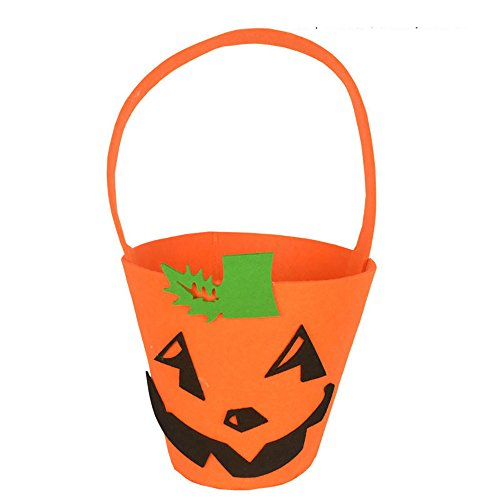 MOKO-PP Baby Girls Boys Pumpkin Storage Halloween Accessory Bag Single Handbags Bags(I)