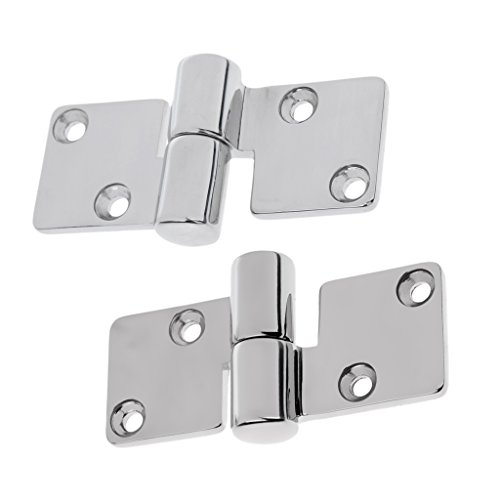 x38mm Stainless Steel L& R Pull Apart Hinge Marine Boat Hardware ()