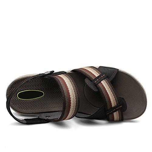 antiscivolo Black Sandali Black regolabili 41 EU 1 3 estivi Size spiaggia da Color wwIqfO