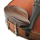 Strobel All-Size Viola Chinrest - Rosewood with Standard Bracket