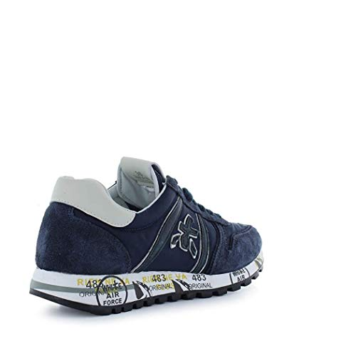 Tessuto Sneakers Skyd3107 Premiata Blu Donna CZ0Uwq