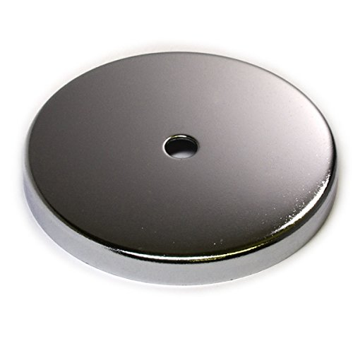 2 PC Cup Magnets Round Base Magnet RB85 w/ 120 LB Holding Power 3.8