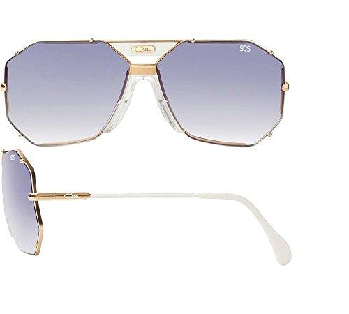 Cazal 905 Legend White/Blue - Aviator Sunglasses Cazal