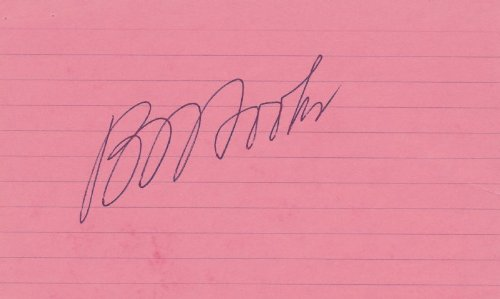 (Benjamin L. Hooks - Signature)