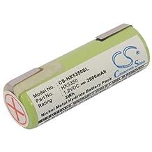 Battery for Braun 5420, 3710, 6012, 4510, 8995, 5584, 5526 +Free External USB Power