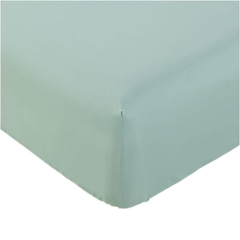 Mellanni Fitted Sheet King Spa-Mint - Brushed Microfiber 1800 Bedding - Wrinkle, Fade, Stain Resistant - Hypoallergenic - 1 Fitted Sheet Only (King, Spa Mint)