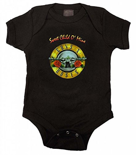 Guns N Roses GNR Sweet Child Infant Baby Romper Snapsuit (6-12 Months)