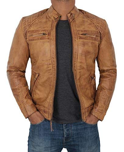 quilted biker jacket mens - 5