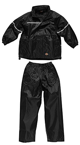 4Kidz Kids Waterproof Jacket and Trouser Set Black