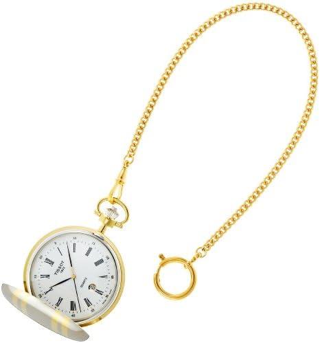 [ティソ] 懐中時計 Savonnette Quartz(サボネット クオーツ) ハンターケース T83855313 正規輸入品