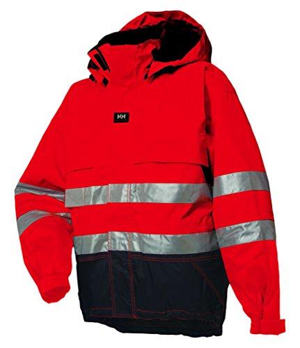 Helly Hansen Ludvika Jacke, 71376-169-2XL, rot / charcoal, 71376
