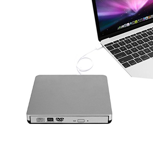 Price comparison product image GBSELL External USB2.0 DVD CD-RW Drive Writer Burner DVD Player for MAC Macbook Air / Pro