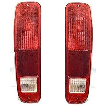73 74 75 76 77 78 79 ford f100 f250 f350 taillight taillamp pair set 78-79  bronco driver and passenger