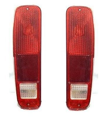 - 73 74 75 76 77 78 79 Ford F100 F250 F350 Taillight Taillamp Pair Set 78-79 Bronco Driver and Passenger