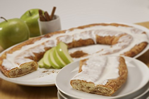 Six Individually Boxed Apple-Cinnamon Kringles by Racine Danish Kringles