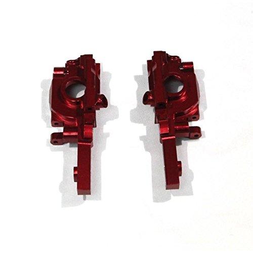 Traxxas 1//16 Mini E-Revo Upgrade Parts Aluminum Rear Gear Box 2Pc Set Red